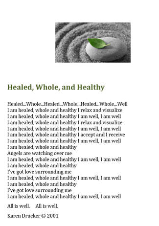 Healed,Whole,Healthy